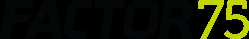 Factor-75-Logo-Wordmark(Black-and-Green)