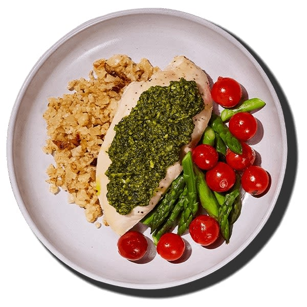 Grilled Pesto Chicken